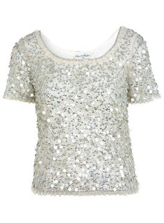 how chic and glam is this sequin shirt!?