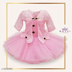 Frocks & Dresses Little Princess Special Girl's Frocks  Fabric: Cotton Sleeve Length: Sleeveless Pattern: Embroidered Multipack: Single Sizes: Free Size (Bust Size: 10.5 in Length Size: 101 in) Country of Origin: India Sizes Available: 2-3 Years, 3-4 Years, 6-12 Months, 12-18 Months, 0-1 Years, 1-2 Years *Proof of Safe Delivery! Click to know on Safety Standards of Delivery Partners- https://ltl.sh/y_nZrAV3  Catalog Rating: ★4.3 (13083)  Catalog Name: Modern Comfy Girls Frocks & Dresses CatalogID_1045093 C62-SC1141 Code: 135-6559706-