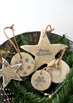 no-bake salt dough ornaments for ehow