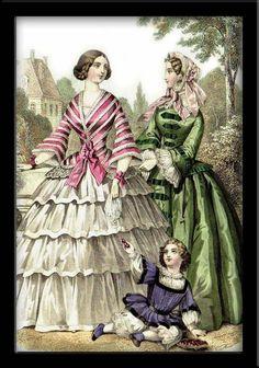 Fashion plate, 1855