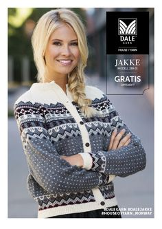 Garnpakke i Daletta fra Dale Garn. Norwegian Knitting, Creative Knitting, Fair Isle Pattern, Hand Knitted Sweaters, How To Purl Knit, Fair Isle Knitting, Vintage Knitting, Knitting Patterns, Knit Crochet