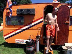 """Camping.  Or, as the Dutch say it, """"Wij gaan op vakantie."""""""