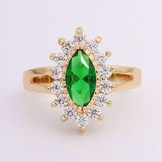 3.76$  Watch here - http://diog6.justgood.pw/go.php?t=194569301 - Faux Gem Rhinestone Leaf Ring 3.76$