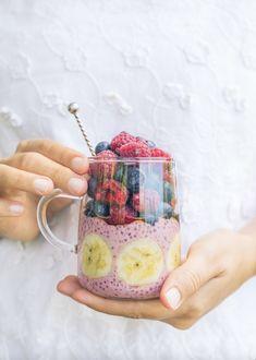Raspberry Chia Parfait