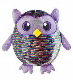 Shimmeez 14 plush Single plush Leo the Owl Leo, Mermaid Sequin, Plush Animals, Stuffed Animals, Baby Clothes Shops, Plushies, Snuggles, Baby Shop, Cuddling
