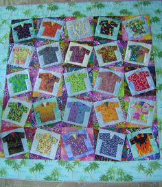 Hawaiian shirt quilt Look what we found...Aloha Shirt pattern by ... : hawaiian shirt quilt pattern - Adamdwight.com
