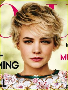 Carey Mulligan always has the most beautiful hair styles!