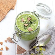 Green Summer Soup with Dill - Green Evi