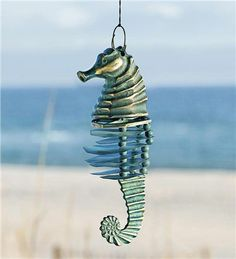 Seahorse Wind Chime--wind&weather.com