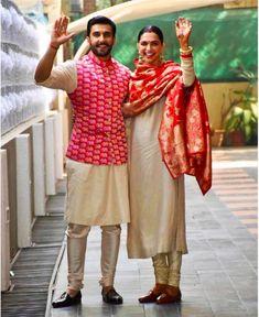 Ranveer Singh-Deepika Padukone wedding: Sikh body upset over Anand Karaj performed outside gurdwara Wedding Kurta For Men, Wedding Dresses Men Indian, Wedding Dress Men, Indian Dresses, Indian Outfits, Indian Weddings, Wedding Men, Pakistani Dresses, Trendy Wedding