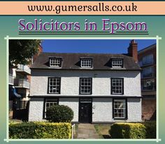 For more information visit at: http://www.gumersalls.co.uk/solicitors-in-epsom-surrey/