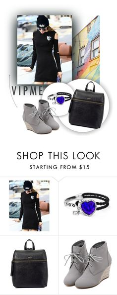 """""""VIPME 16"""" by melisa-hasic ❤ liked on Polyvore featuring moda, Shoreditch, WithChic, women's clothing, women, female, woman, misses, juniors y vipme"""