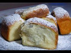 Pečené buchty ako od babičky - YouTube Cottage Cheese, Roast, Bread, Food, Youtube, Basket, Brot, Essen, Baking