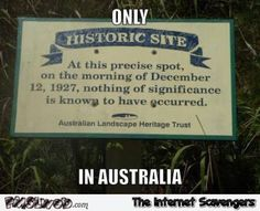 Aussie humor – Today, January is the day the nation from Down Under (travelers and expats included) celebrate their national holiday aka Australia day Australia Funny, Australia Day, Funny Signs, Funny Memes, Jokes, Hilarious, Australian Party, Meanwhile In Australia, Aussie Memes