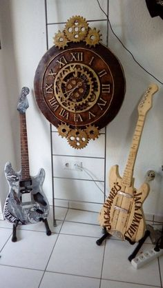 Pallet Steampunk Clock