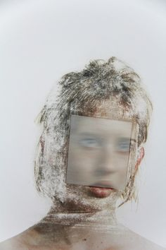 Ghostly, Warped Prints and Drawings from Joseph Parra « Beautiful/Decay Artist Design Portrait Art, Portrait Photography, Collages, Experimental Photography, Bizarre, A Level Art, Glitch Art, Matte Painting, Photography Projects