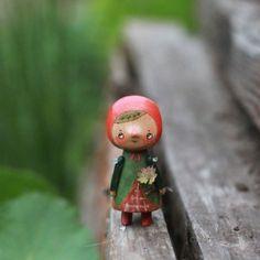 Брусничка #kotyasya_лесные #деревянныеигрушки #woodentoys нашла дом/sold
