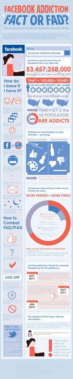Adicción a FaceBook #socialmedia