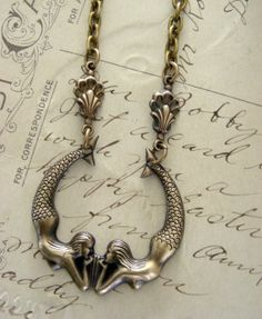 mermaid necklace...