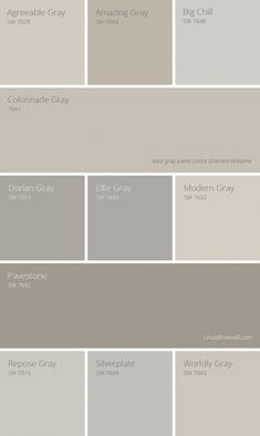 11 most amazing best gray paint colors Sherwin Williams. 11 most amazing best gray paint colors Sherwin Williams. Farmhouse Paint Colors, Exterior Paint Colors, Paint Colors For Home, House Colors, Paint Colours, Wall Painting Colors, Best Neutral Paint Colors, Gray Exterior, Painting Doors