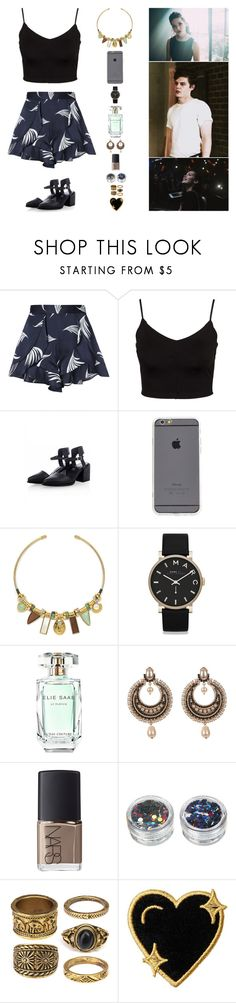 """""""DO YOU BELIEVE??"""" by anaalsan ❤ liked on Polyvore featuring C/MEO COLLECTIVE, Glamorous, Lizzie Fortunato, Marc by Marc Jacobs, Elie Saab, Givenchy, NARS Cosmetics, Louise Gray and Stoney Clover Lane"""