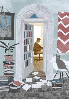 Non tutte le stanze della casa sono propizie alla lettura.