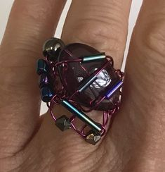 Personalized Items, Handmade Gifts, Glass Marbles, Ring, Handmade, Hands