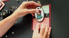 Create an interactive card that reveals a hidden image or message when you pull on a tag. For step by step still pictures and more tutorials visit our resour...