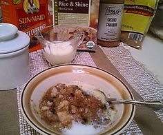 Have you ever had grits? I absolutely love them on a cold winter's morning. Rice grits make a delicious, hot, creamy whole grain cereal to top with brown...