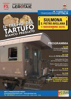Ancora posti nell'ultima carrozza disponibile per il treno storico di domenica 1 novembre sulla Transiberiana d'Italia, consigliamo di affrettarsi e prenotare entro questa settimana! Vi aspettiamo! Transiberiana d'Italia - #nonperdiamoquestotreno Ricordiamo che per chi volesse prenotare online, è possibile farlo qui:  http://abruzzolink.com/?page_id=797&lang=it&tour_id=154