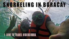 Snorkeling in Boracay with VideoCobra