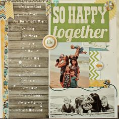So Happy Together by naomiatkins at Studio_Calico