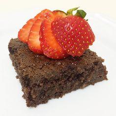 bolo de chocolate com biomassa de banana