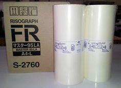 Riso S2760 Duplicator Masters