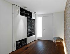 built in storage space An Elegant Storing Solution : Original Built In Wardrobe