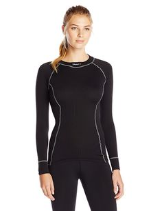 Craft Women's Active Crewneck Long Sleeve Base Layer Top * This is an Amazon Affiliate link. Click on the image for additional details.