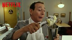 Pee-wee Herman Meets Joe Manganiello Over Milkshakes in a Clip From 'Pee-wee's Big Holiday'