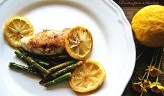 Peitos de frango com limão e salteado de espargos | SAPO Lifestyle