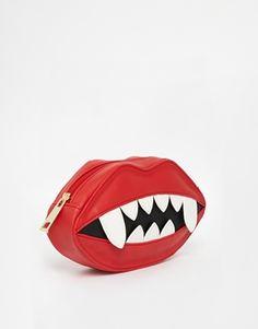 Enlarge ASOS Halloween Lips Clutch Bag
