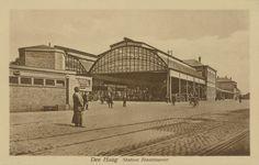 Den Haag Station Staatsspoor Straatzijde