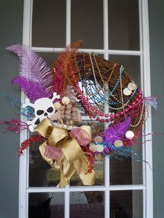 Gasparilla wreath- this may need to happen