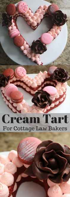 Cream Tart for Cottage Bakers! Assembling Tutorial #creamtart #caketrends2018 #caketrends #tart