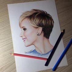 Jennifer Lawrence💛. #arts_help #arts_gallery #arts_spotlight