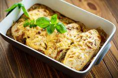 13 tepsis csirke vacsorára - gyors és egyszerű receptek | Mindmegette.hu Bulgarian Recipes, Bulgarian Food, Mashed Potatoes, Cauliflower, Food And Drink, Menu, Lunch, Paleo, Chicken