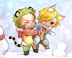 Winter theme art for ZoSan this is a request for a friend on facebook too.