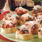 Bruschetta I made tonight...so easy but gloriously perfect.  Great recipe.