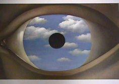 MAGRITTE René - Belgian (1898 -1967) - SURREALISM - the false mirror