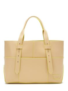 Harrison Street Leather Tote by IIIbeca at Gilt