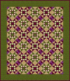 Eight Hands Around Quilt Pattern
