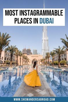 Looking for the most beautiful Instagrammable places in Dubai? Check out this guide to find the best photography spots in Dubai with their exact locations! #dubai #middleeast #instagrammable #photography #dubaitravel | Burj Khalifa | Burj al Arab | Dubai Miracle Garden | Dubai Instagram spots | Dubai top photography locations | Best places to take photos in Dubai | Dubai photography guide | Most beautiful places in Dubai | Top things to do in Dubai | Best places to visit in Dubai | Dubai… Best Places In Dubai, Dubai Things To Do, Cool Places To Visit, Dubai Travel, Asia Travel, Time Travel, Photography Guide, Amazing Photography, Travel Photography